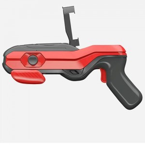 Геймпад для виртуальных игр, AR GUN 4D ARG-09 пистолет дополненной реальности (Черно-Красный)