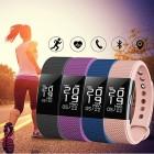 Фитнес-браслет D&A F2 Bluetooth Pink (Розовый) купить оптом