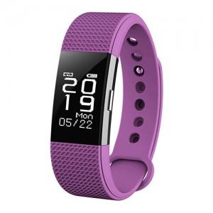 Фитнес-браслет D&A F2 Bluetooth Purple (Фиолетовый)