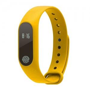 Фитнес-браслет D&A M2 Bluetooth Yellow (Желтый)