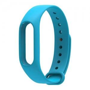 Ремешок для фитнес-браслета Xiaomi Mi Band 2 (Голубой) купить оптом