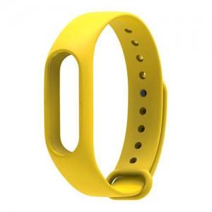 Ремешок для фитнес-браслета Xiaomi Mi Band 2 (Желтый)