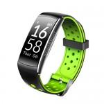 Фитнес-браслет SOVO SE12 Bluetooth Black-Green (Черно-Зеленый)