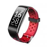 Фитнес-браслет SOVO SE12 Bluetooth Black-Red (Черно-Красный)