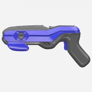 Геймпад для виртуальных игр, AR GUN 4D ARG-09 пистолет дополненной реальности (Серо-Синий)