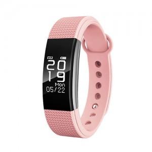 Фитнес-браслет D&A F1 Bluetooth Pink (Розовый)