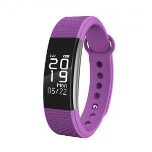 Фитнес-браслет D&A F1 Bluetooth Purple (Фиолетовый)