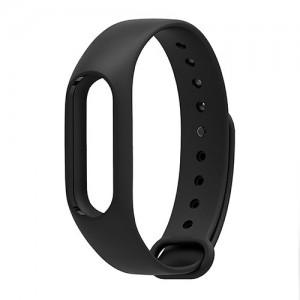 Ремешок для фитнес-браслета Xiaomi Mi Band 2 (Черный)