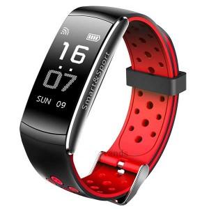 Фитнес-браслет SOVO SE12 Black-Red (Черно-Красный)